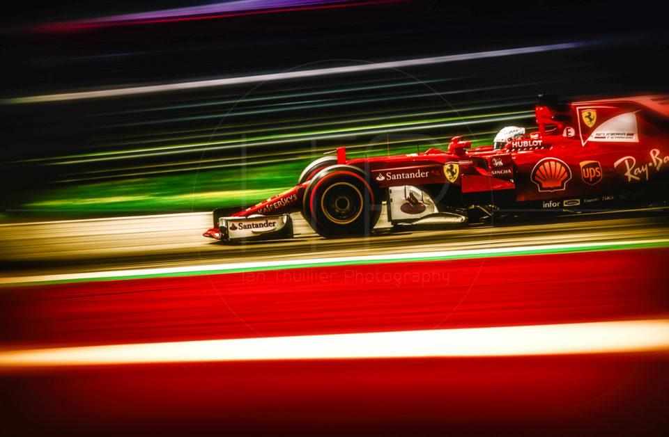 Formula 1 2017: Austrian Grand Prix by Ian Thuillier.
