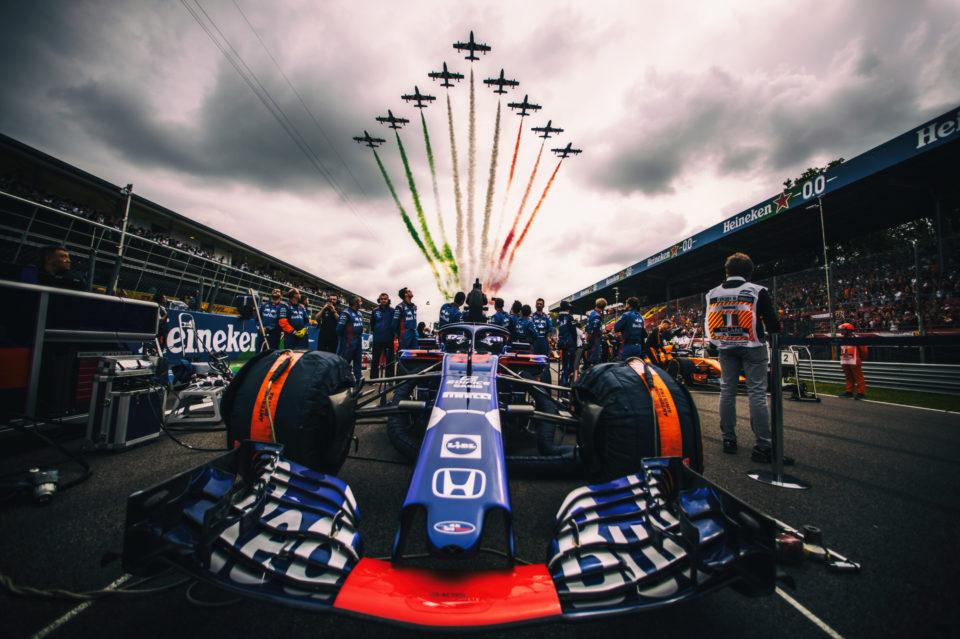 Formula 1 2018: Italian Grand Prix by Ian Thuillier.