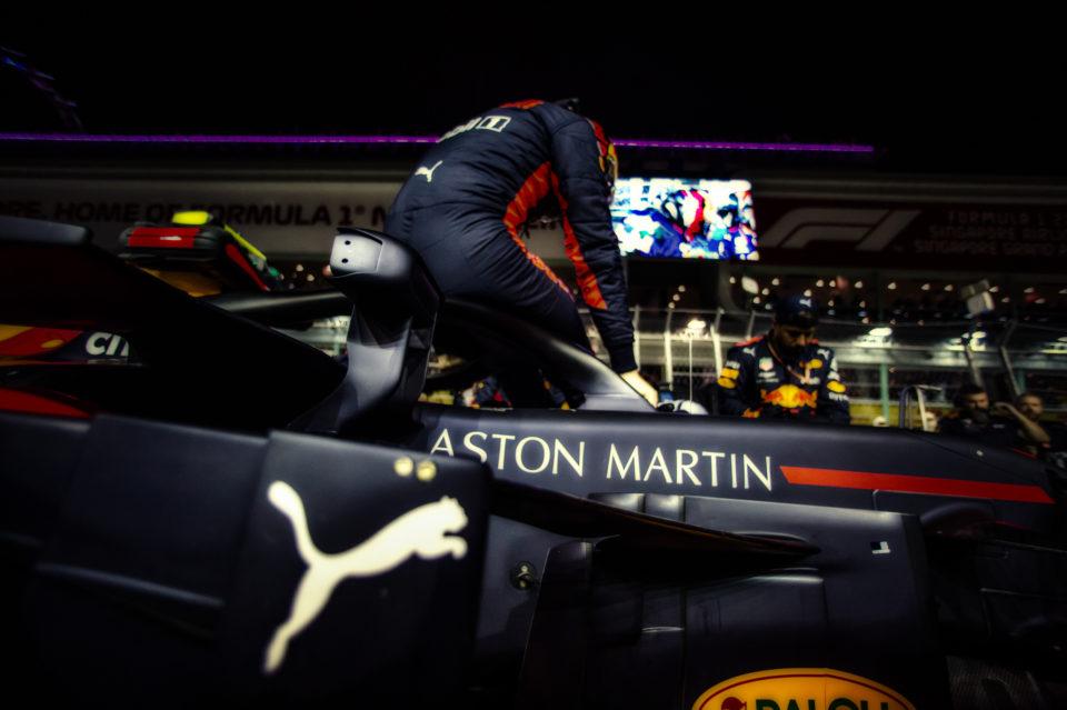 Formula 1 2018: Singapore Grand Prix by Ian Thuillier.